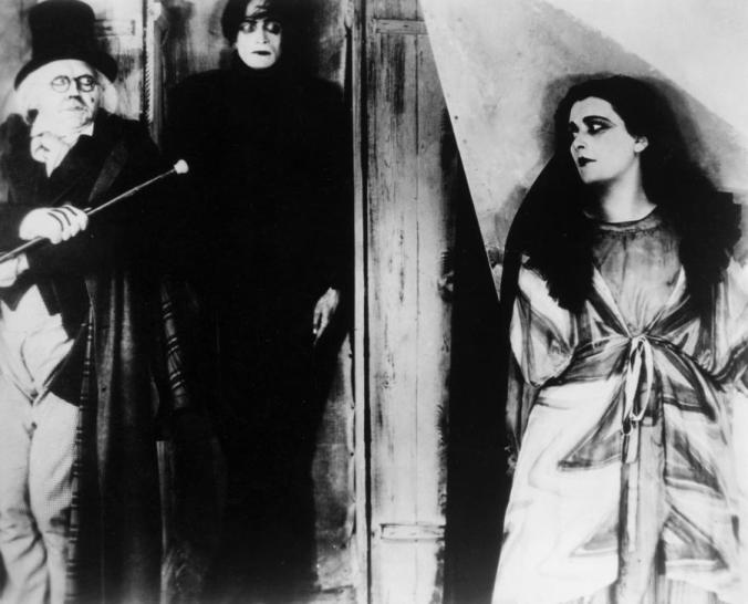 The Cabinet of Dr. Caligari and his Somnambulist Cesare